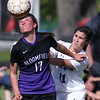 Rochester defeats Bloomfield Hills 1-0 in varsity soccer action at Borden Park in Rochester Hills Thursday, May 18, 2017. (MIPrepZone photo / LARRY McKEE)