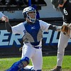 Rochester hosted Lake Orion to conclude a three-game baseball series in OAA Red Division play on Wednesday, May 3, 2017. (MIPrepZone photo gallery by Dan Fenner)