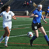 The Detroit Country Day Yellowjackets defeated the Royal Oak Ravens 3-1 in the match played on Monday April 24, 2017 at the Detroit Country Day School.  (MIPrepZone photo by Ken Swart)