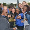 Royal Oak's girls just wanted to have fun. Royal Oak's Ravens were at their best Friday at the annual Raider Relays where the boys and girls squads each won meet titles at North Farmington High School. Walled Lake Western's boys and Southfield's girls each placed second. (MIPrepZone photo gallery by MARVIN GOODWIN).