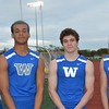 Jack Dodge (from left), Cody White, Ben Reilly and Justin Thomas comprised Walled Lake Western's winning 4 x 100 relay. Royal Oak's Ravens were at their best Friday at the annual Raider Relays where the boys and girls squads each won meet titles at North Farmington High School. Walled Lake Western's boys and Southfield's girls each placed second. (MIPrepZone photo gallery by MARVIN GOODWIN).