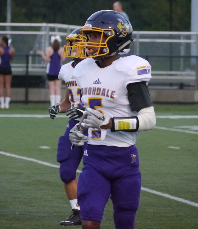 . Auburn Hills Avondale defeated Royal Oak, 21-7, in an OAA Blue football game, Sept. 22, 2017. (Oakland Press photo gallery by Jake Thielen)