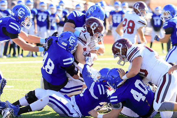 The semifinal round is here and five Oakland County football teams are still battling and getting closer to the ultimate goal - a 2016 state championship. The semifinal round takes place Saturday. (MIPrepZone file photo).
