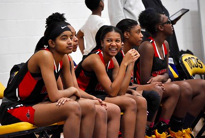 Birmingham Detroit Country Day hosted Southfield A&T for a girls basketball game on Tuesday, Jan. 8, 2019. (DAN FENNER - For Digital First Media)
