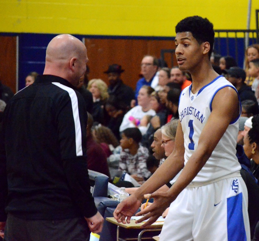 . Southfield Christian rolled to an 88-53 win over Flint International Academy in the Class D quarterfinal at Goodrich High School on Tuesday night. (Oakland Press Photo gallery by Drew Ellis)