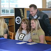 Stoney Creek held a signing day ceremony on Wednesday to honor volleyball players Erika Ward and Mackenzie Wild, golfer Lauren Ingle and soccer players Gina Cerny and Truly Hoenig. (Gallery by Keith Dunlap/MIPrepZone)
