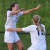 The Stoney Creek Cougars defeated the Lake Orion Dragons 2-0 in the MHSAA D1 District quarterfinal played on Tuesday May 30, 2017 at Stoney Creek HS.  The Cougars will now take on crosstown rival Rochester Adams in Thursday's semi-final.  (MIPrepZone photo by Ken Swart)