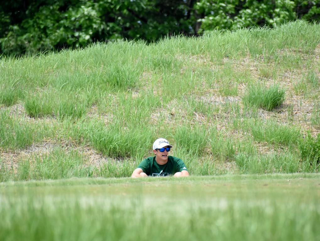 . Twenty teams competed at the Division 1 boys golf regional at Twin Lakes Golf Club in Oakland Township Wednesday. Anchor Bay took home the team title, while L\'Anse Creuse and Lake Orion joined the Tars as state qualifying teams. (Digital First Media photo by Jason Schmitt)