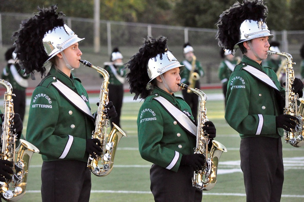 . Waterford Kettering hosted Walled Lake Northern for a Lakes Valley Conference football game on Thursday, Sep. 28, 2017. (Photo gallery by Dan Fenner)