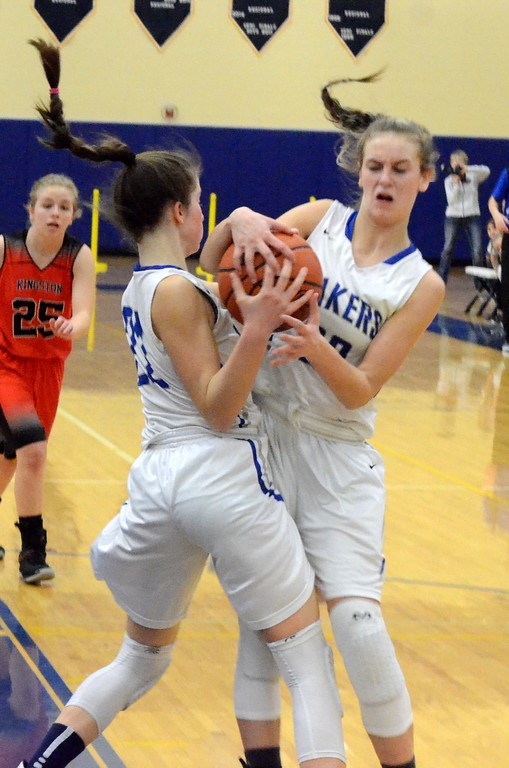 . Waterford Our Lady picked up a 42-28 win over Kingston on Tuesday in the Class D quarterfinal at Burton Bendle High School. (Oakland Press photo gallery by Drew Ellis)