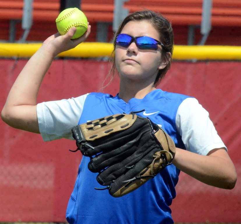 . Waterford Our Lady of the Lakes suffered a 4-0 loss to Unionville-Sebewaing in the Division 4 softball quarterfinal on Tuesday at Saginaw Valley State University. (Oakland Press photo gallery by Drew Ellis)