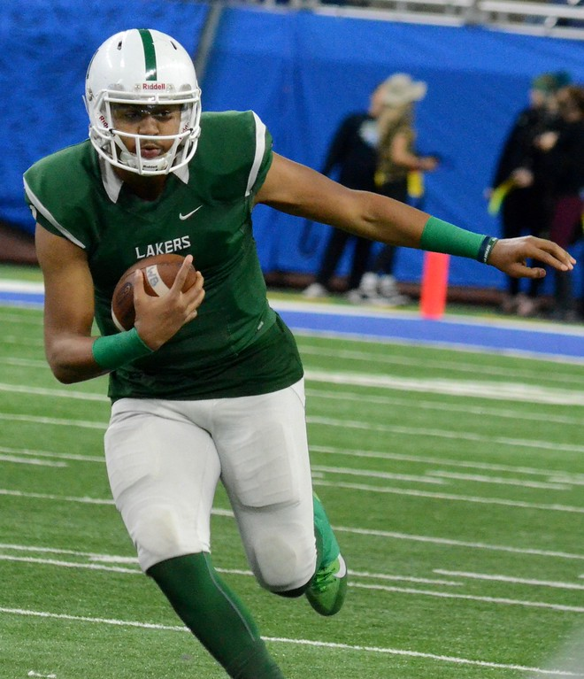 . West Bloomfield appeared in its first Division 1 football final on Saturday, falling to Clarkston 3-2 at Ford Field in Detroit. (Oakland Press photo gallery by Drew Ellis)