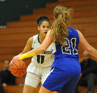 The West Bloomfield Lakers defeated the Rochester Falcons 58-46 in the OAA White match up played on Tuesday February 20, 2018 at West Bloomfield HS.  (Oakland Press photo by Ken Swart)