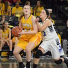 Rochester Adams' Maggie Rogers (left) is a second-team All-Oakland County selection for 2016-17. (MIPrepZone file photo)