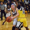 Farmington Hills Mercy took No. 1-ranked Detroit King to overtime in Operation Friendship on Thursday, Feb. 23, 2017, but fell there, 48-45. (MIPrepZone photo by Matthew B. Mowery)