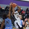 North Farmington's Kierra Crockett (24) has committed to play basketball in college at Saginaw Valley State University, she announced on Sunday, Feb. 12, 2017. (MIPrepZone file photo by Matthew B. Mowery)