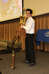 """Varad Mulay, of Novi Middle School, won the 2017 Oakland Press Spelling Bee with """"Duende"""" and """"Sabruer."""""""