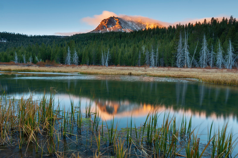 Lassen Peak Morning II