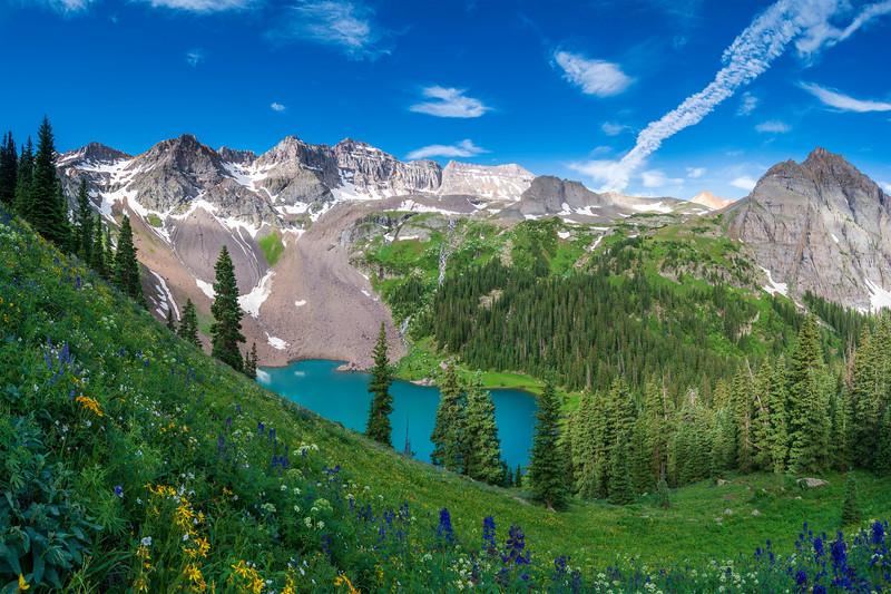 Blue Lakes, Colorado