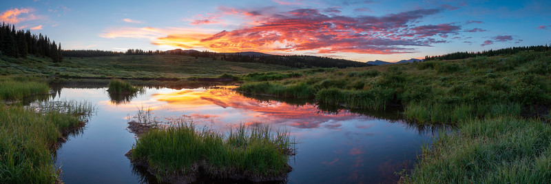 Beaver Pond Sunset