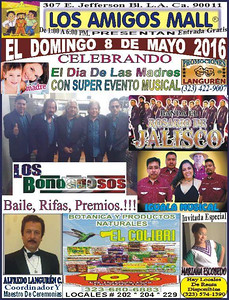 5-8-2016 MOTHER'S DAY at LOS AMIGOS MALL
