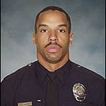 Los Angeles Police Officer Randy Simmons died in the line of duty in a standoff with a barricaded suspect in Winnetka on Feb. 7, 2008.