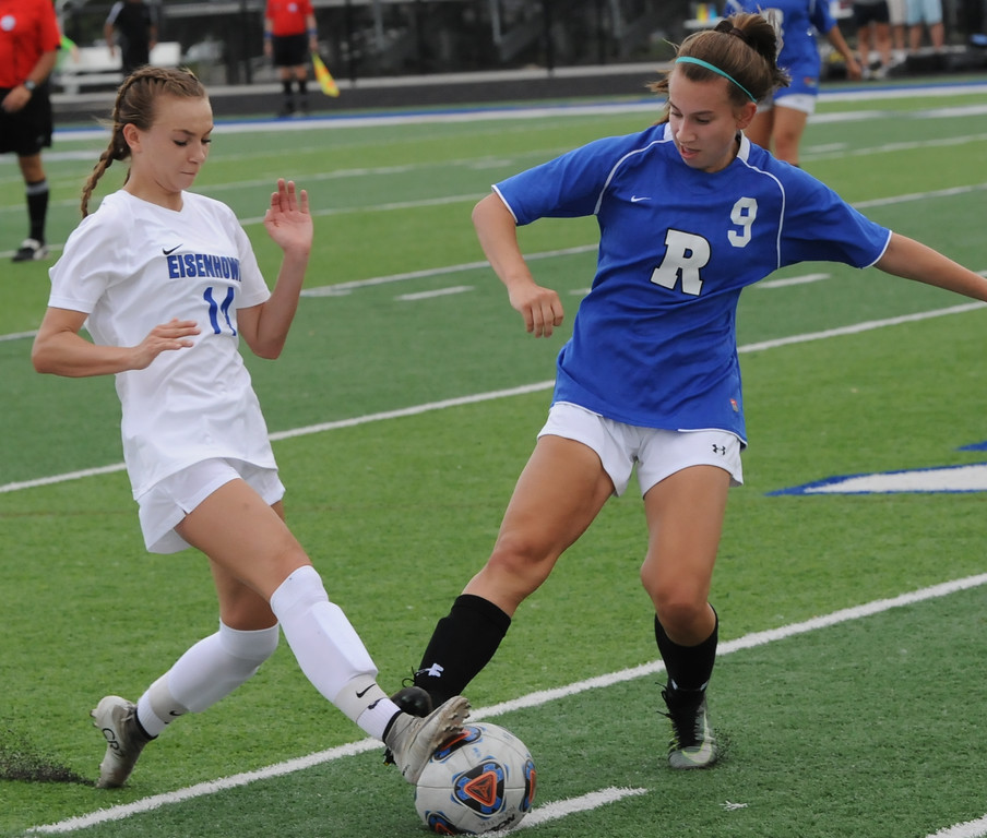 Photos of Eisenhower soccer victory over Rochester