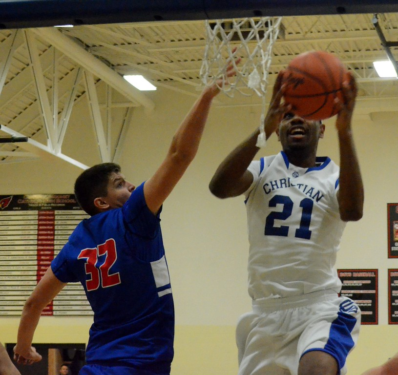 . Southfield Christian defeated Parkway Christian in the Class D regional final on Wednesday night at Cardinal Mooney, 87-46. (Digital First Media photo gallery by Drew Ellis)