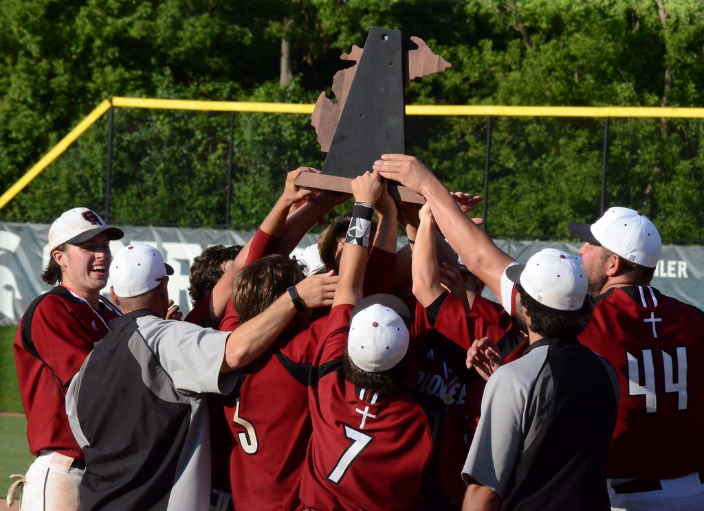 . Riverview Gabriel Richard defeated Madison Heights Bishop Foley, 3-0, in Saturday\'s Division 3 baseball final at Michigan State University on Saturday. (Oakland Press photo gallery by Drew Ellis)