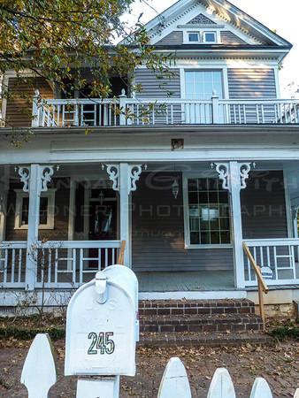 Dodd Ave 245 progress Blue