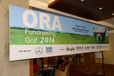 ORA Fundraising Golf 2016