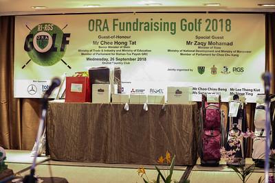 ORA Fundraising Golf 2018