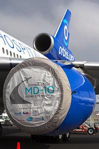 ORBIS Flying Eye Hospital McDonnell Douglas MD-10-30(F) N330AU 6-3-16 1