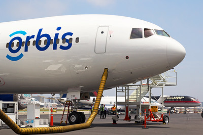 ORBIS Flying Eye Hospital McDonnell Douglas MD-10-30(F) N330AU 6-3-16 2