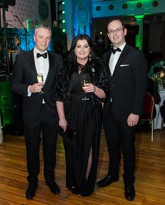 Glenn Taggart, Lisa Rooney and James McLoughlin