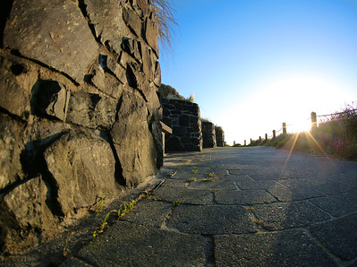 Walkway at the Vietnam War Memorial