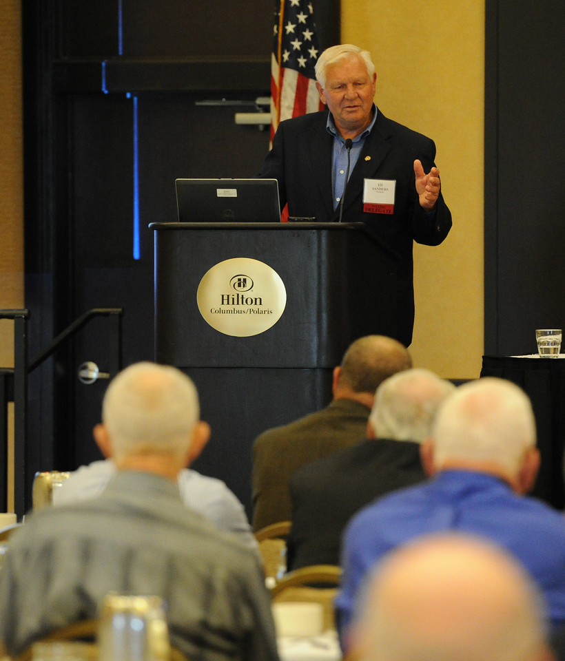 Ohio Rural Electric Cooperatives<br /> Annual Meeting<br /> August 11, 2015<br /> Ed Sanders