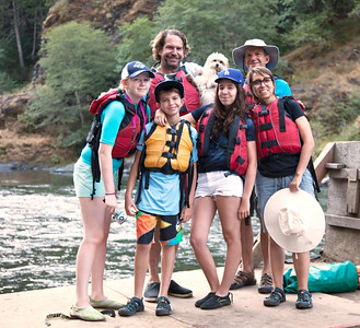 Rogue River rafting 40 miles, 4 days of fun in Oregon.