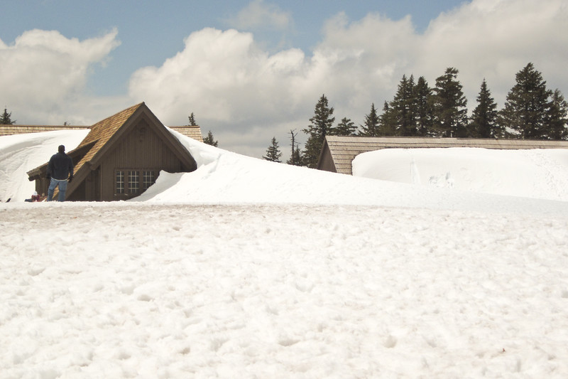 Crater Lake National Park, May 22, obviously still not spring yet.