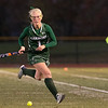 Oakmont Regional High School field hockey played Sutton High School at Grafton High School during the Central Mass. Division 2 semifinals on Wednesday, Nov. 6, 2019. ORHS's #1 Olivia Boucher. SENTINEL & ENTERPRISE/JOHN LOVE