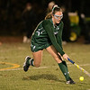 Oakmont Regional High School field hockey played Sutton High School at Grafton High School during the Central Mass. Division 2 semifinals on Wednesday, Nov. 6, 2019.  ORHS's #4 Audrey Dolan. SENTINEL & ENTERPRISE/JOHN LOVE
