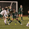 Oakmont Regional High School field hockey played Sutton High School at Grafton High School during the Central Mass. Division 2 semifinals on Wednesday, Nov. 6, 2019.  ORHS's #20 Irini Stefanakos. SENTINEL & ENTERPRISE/JOHN LOVE