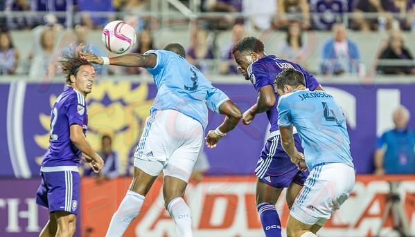 Orlando City Soccer FC vs new York Fc , Citrus Bowl Orlando, Florida September 13th 2015