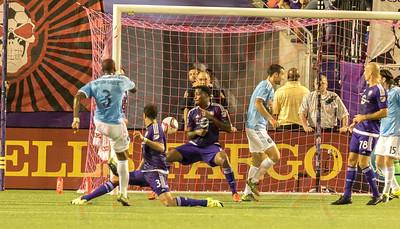 Orlando City Soccer FC vs new York Fc , Citrus Bowl Orlando, Florida October 16th 2015