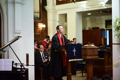 Church Service - Baptism 25Jun17