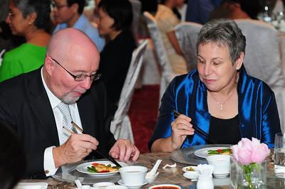 Farewell Dinner for David and Glenda
