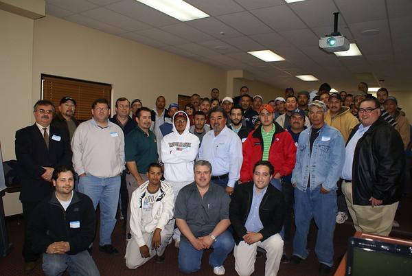 OSHA 10 Class - Dec. 6, 2008