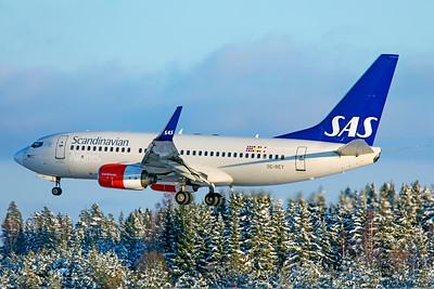SAS Scandinavian Airlines Boeing 737-76N SE-REY 2-3-19