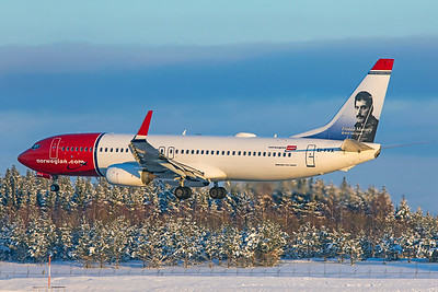 Norwegian Air International Boeing 737-8JP EI-FVX 2-3-19