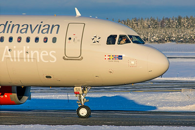 SAS Scandinavian Airlines Ireland Airbus A320-251N EI-SII 2-3-19 2